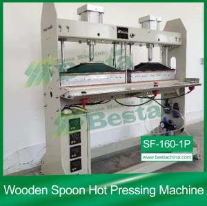 Wooden Spoon Hot Pressing Machine(SF-160-1P)
