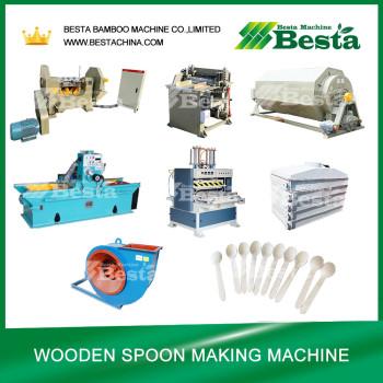 140MM Wooden Spoon Hot Pressing Machine