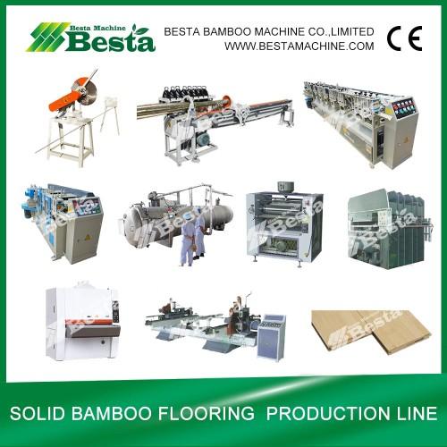 Bamboo Furniture Board Making Machine