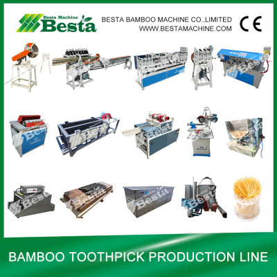 Toothpick Production Line, Bamboo Toothpick Machine (whole set)