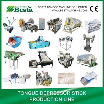 Wooden Tongue depressor Stick Machine