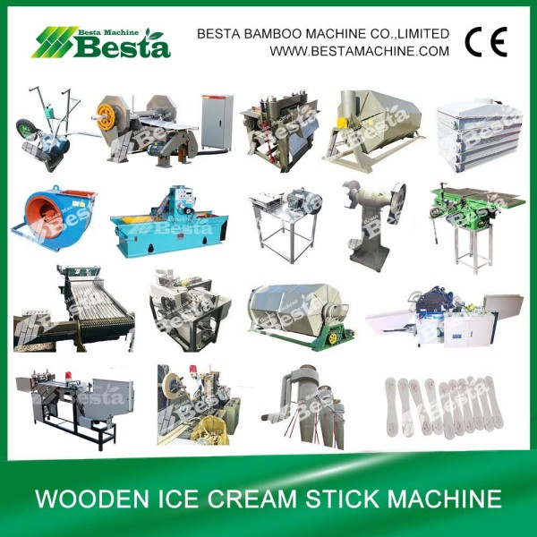 Ice cream stick making machine (detailed)