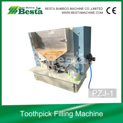 PZJ-1 Toothpick Filling Machine, Toothpick Packing Machine by plastic container