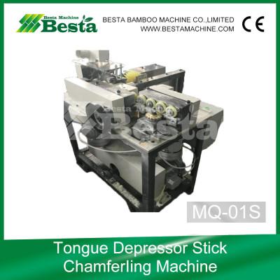Tongue Depressor Stick Chamfering Machine,Ice cream stick making machine