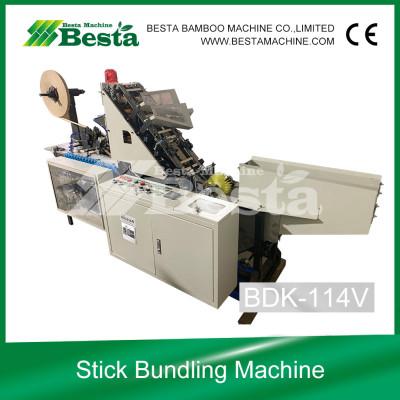 Ice cream Stick Bundlling Machine