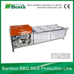 bamboo bbq stick machine, bamboo stick polishing machine