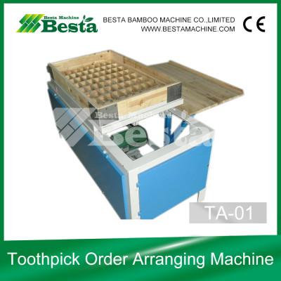 Toothpick Order Arranging Machine