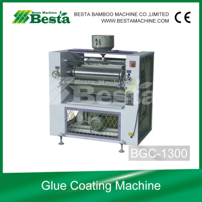 Glue Coating Machine , Strand Woven Flooring Making Machine