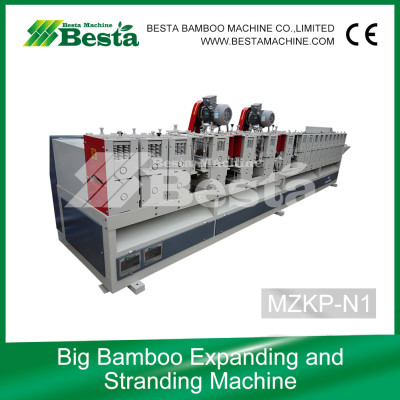 Bamboo Expanding and Stranding Machine, bamboo culm crusher (new)