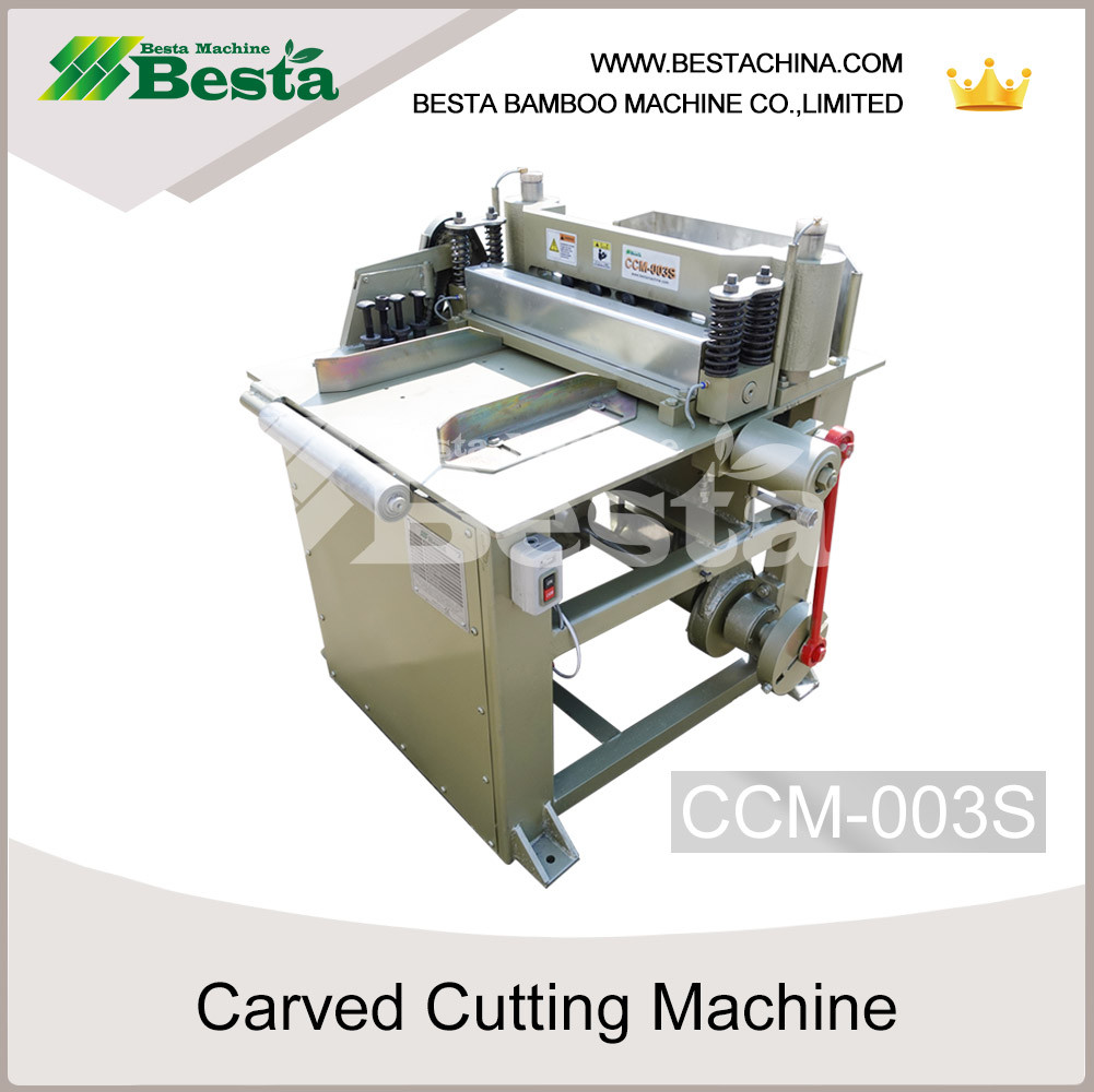 carved cutting machine for wooden spoon