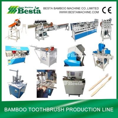 Bamboo Toothbrush Making Machine