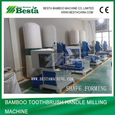 Bamboo Toothbrush Handle Milling Machine