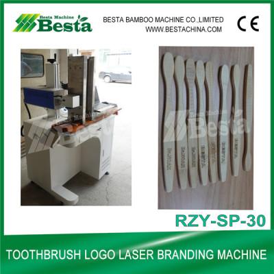 Bamboo Toothbrush Laser Logo Branding Machine