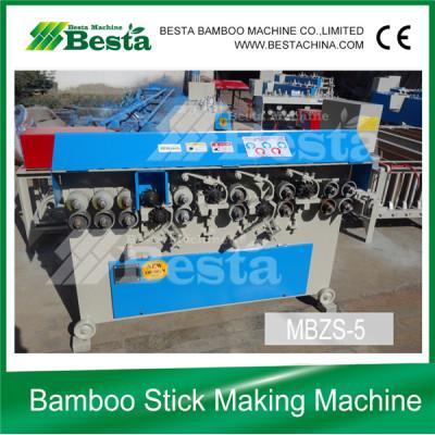 Round Bamboo Stick Making Machine New Design
