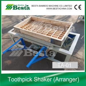 Toothpick Order Arranging Machine, Wooden Toothpick Machine