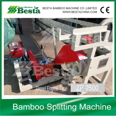 Bamboo Splitting Machine (Diesel Engine Type)