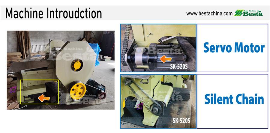 wood rotary cutting machine