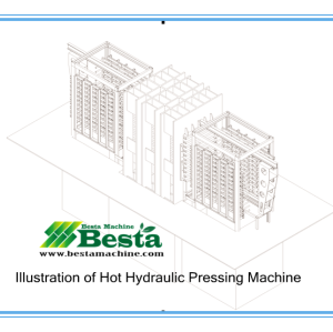 Strand Woven Flooring Machine,Hot Pressig Machine
