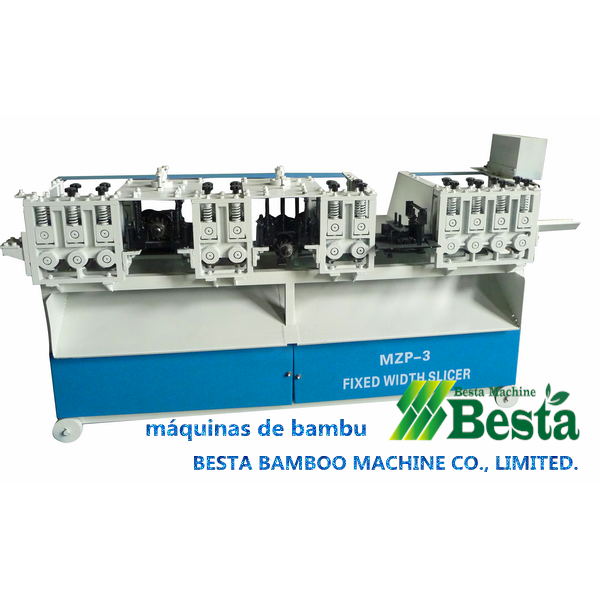 máquinas de bambu