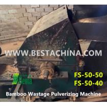 Bamboo Pulverizing Machine
