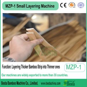 Bamboo toothpick machine, Small Layering Machine
