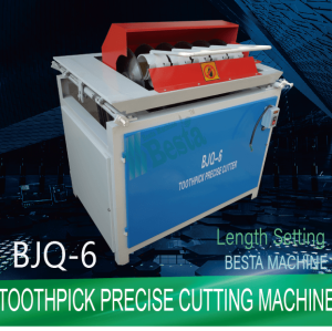 BJQ-6 PRECISE CUTTING MACHINE, TOOTHPICK CUTTING MACHINE