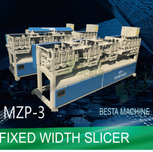 Bamboo Strip Slicing Machine, Fixed Width Slicer (MZP-3)