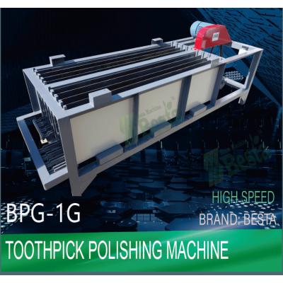 Bamboo Toothpick Machines, Toothpick Polishing Machine (high speed)