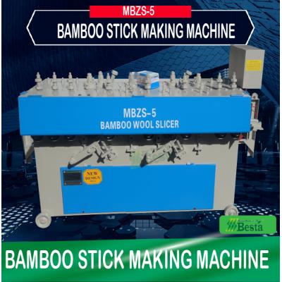 Round Stick Making Machine, MBZS-5 Bamboo Stick Shape Forming Machine