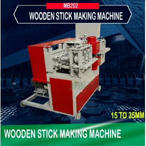 35mm round wooden stick making machine (new)