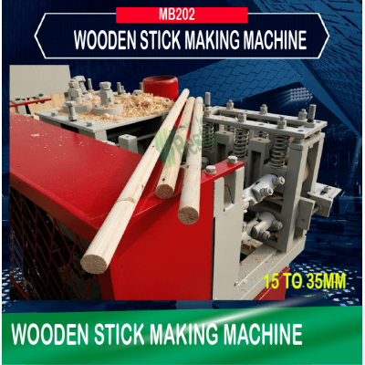 Wooden Stick Making Machine Big Size