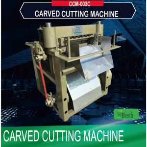 Carved Cutting Machine CCM-003C, coffee stirring stick machine