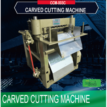 Carved Cutting Machine CCM-003C, ice cream stick machines