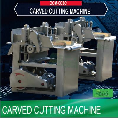 Carved Cutting Machine CCM-003C, coffee stirring stick machine