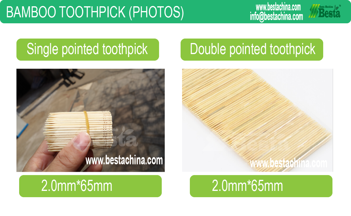 bamboo toothpick machine