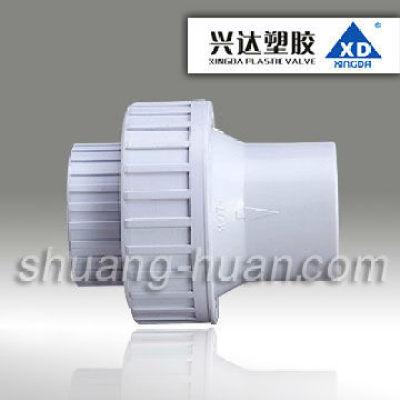 FA72 XD Brand single union spring check valve, U-PVC single union spring check valve cheap and good quality, DIN ,SCH40 Standard