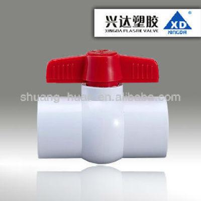 plastic compact ball valve