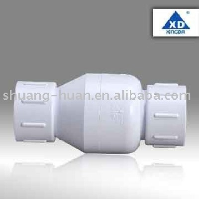 PVC Spring check valve