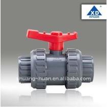 Double union ball valve