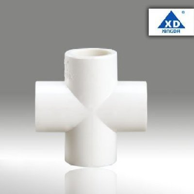 PVC FITTING Four way cross