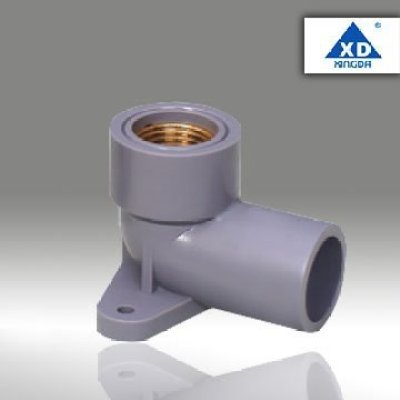 Plastic fitting Ts 90 deg elbow (with copper)