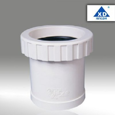 PVC DWV Screw Coupling With Rubber
