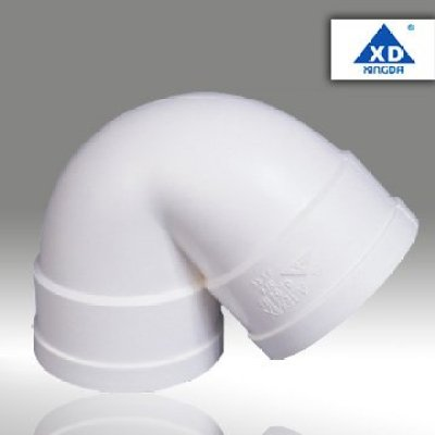 PVC Elbow With Double Connectop