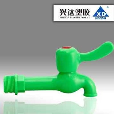 "FA86XD Brand Plastic Water TAP, PP TAP, PVC TAP , Cheap, Good Quality, 1/2"" 3/4"""