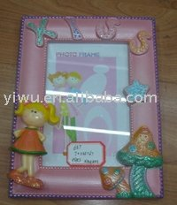 Sell Small Resin Photo Frame for Dollar Store in Mixed Container