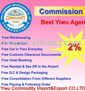 Prefessional Reliable Yiwu Purchasing Agent