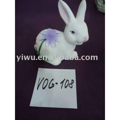 China Yiwu Rabbit Resin Craft Agent