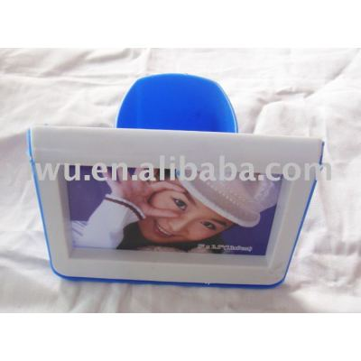 Dollar Store Item Photo Frame with Pencil Holder