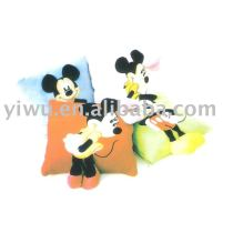 Mickey Mouse Cotton Pillow Quilt