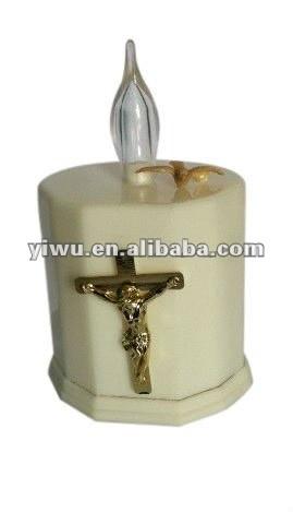 Glow in the Dark Plastic Jesus Crucifix